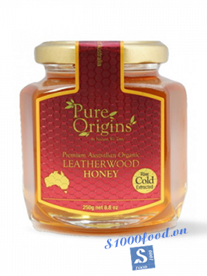 Mật Ong Pure Orgins Leatherwood Hũ 250g