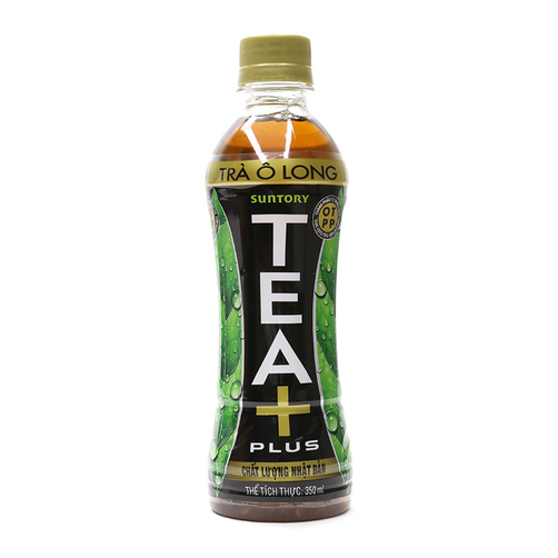 Trà Ô Long Tea Plus Chai 350ml